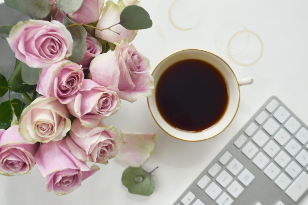 image of coffee and roses