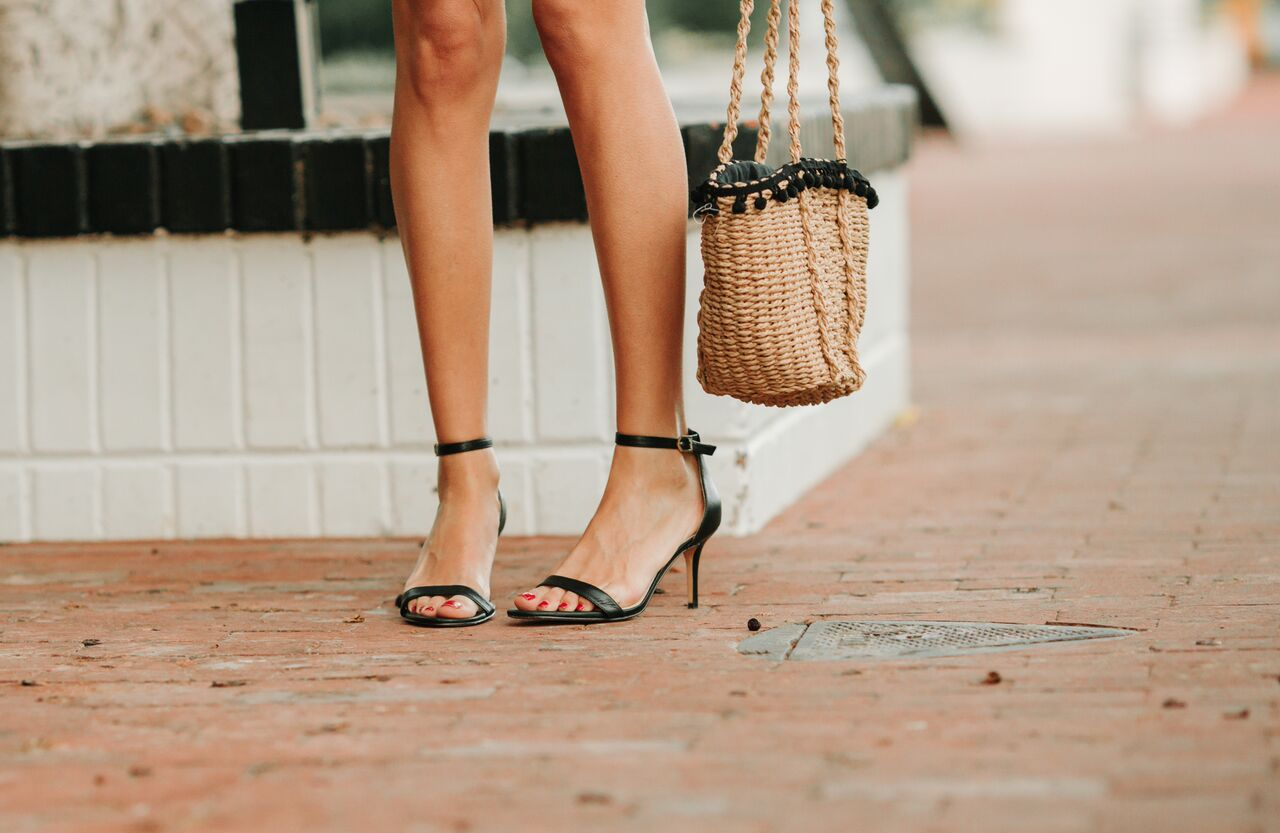 Sam Edelman heels and Zara bag-Coffee Cups and Roses