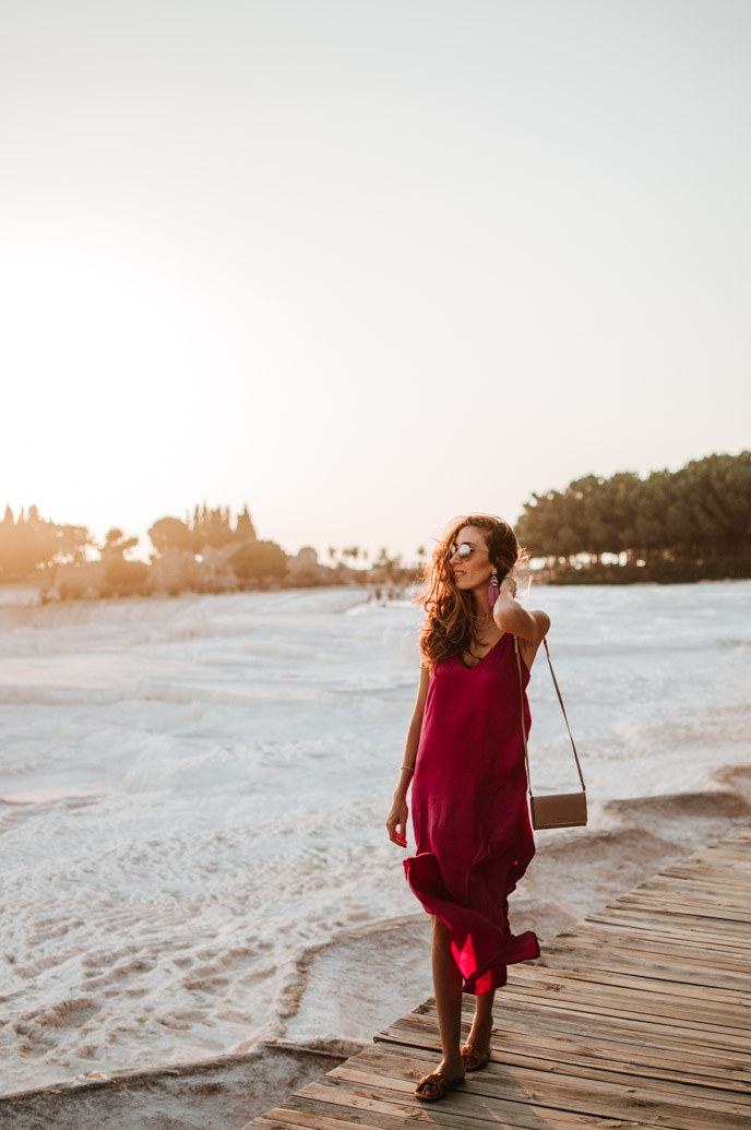Fuchsia Maxi Dress